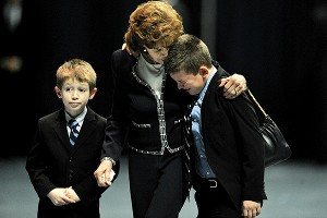 Sue Paterno and grandchildren