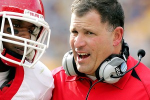 Khaseem Greene and Greg Schiano