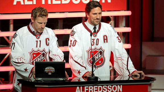 Daniel Aflredsson, Henrik Lundqvist