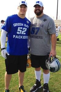 Clay Matthews, Ryan Kalil