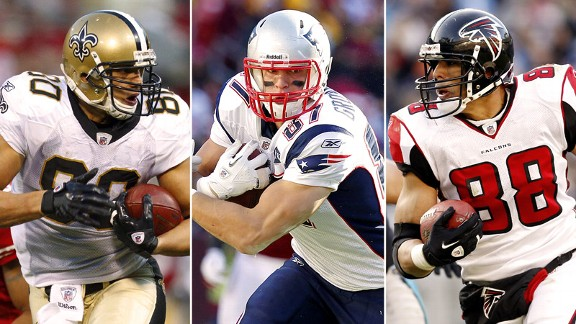 Jimmy Graham, Rob Gronkowski, Tony Gonzalez