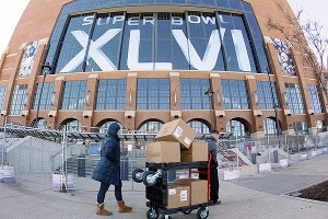 Super Bowl XLVI will be played in the House That Peyton Manning Built, but Manning's future in Indianapolis is uncertain at best.