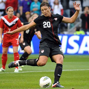Abby Wambach is the second leading scorer in U.S. Team history.