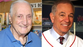 Ralph Branca and Bobby Valentine