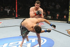 Nate Marquardt and Demian Maia