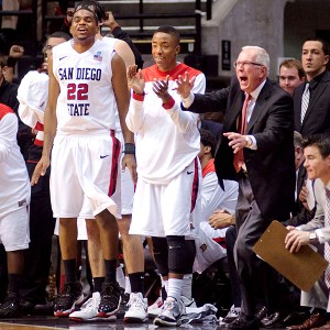 Steve Fisher and Aztecs