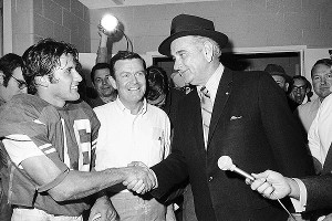 President Lyndon B. Johnson | Darrell Royal