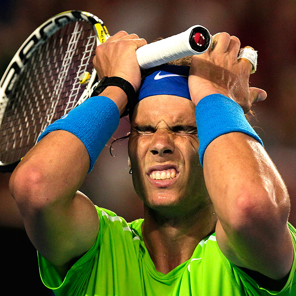 Rafael nadal s loss to novak djokovic in australian open has positive