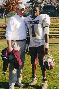 James Ihedigbo and Coach Cullen