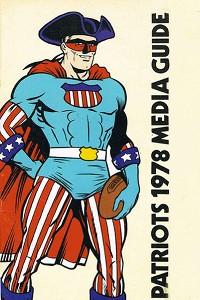 1978 Patriots media guide