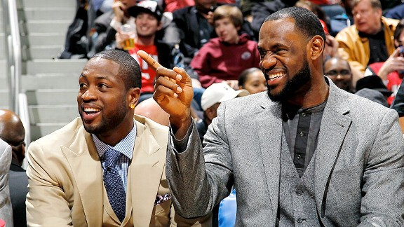 LeBron and Wade