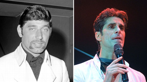 Joe Namath and Perry Farrell
