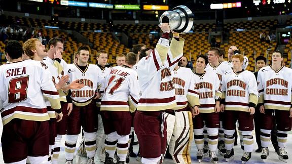Boston College, Boston University, Harvard And Northeastern Ready For Beanpot Boston