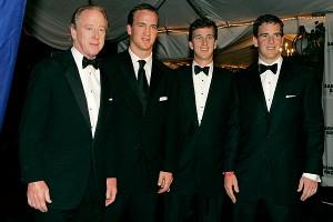 Archie Manning, Peyton Manning, Cooper Manning, Eli Manning