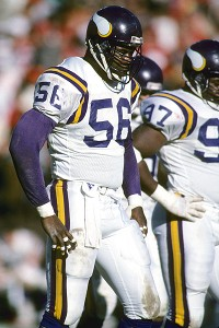 Vikings defensive end Chris Doleman