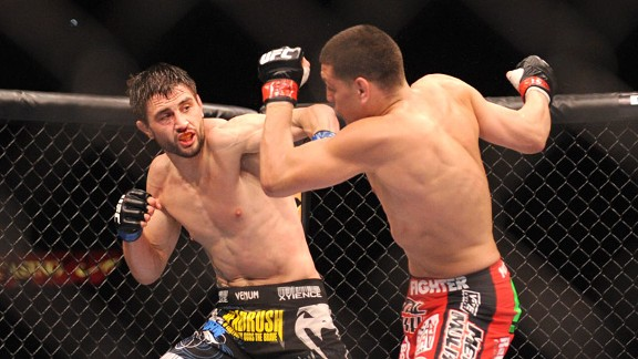 Carlos Condit and Nick Diaz