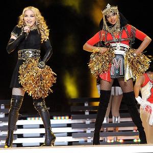 Madonna and MIA