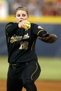 Missouri's Chelsea Thomas led the nation with a 0.95 ERA in 2011.