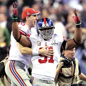 Eli Manning and Justin Tuck