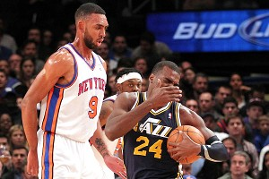 Quick Reaction: KNICKS 99, Jazz 88