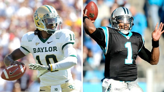 Robert Griffin III and Cam Newton