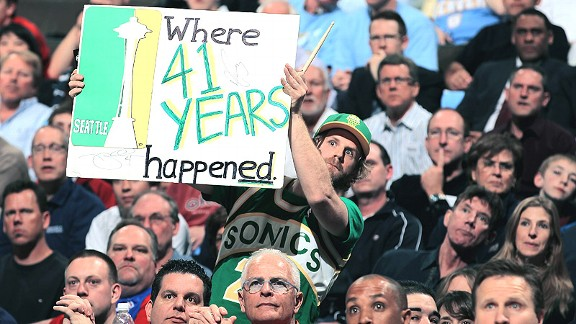 Seattle Sonics fans 