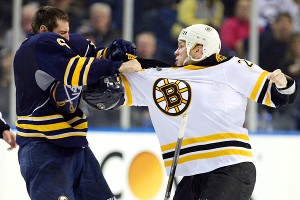 Mike Weber and Shawn Thornton