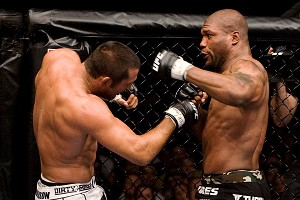 Rampage Jackson and Dan Henderson