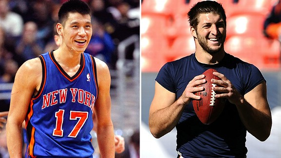 Jeremy Lin/Tim Tebow