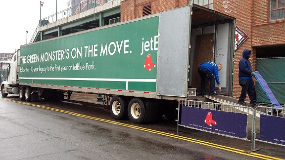 Red Sox Truck