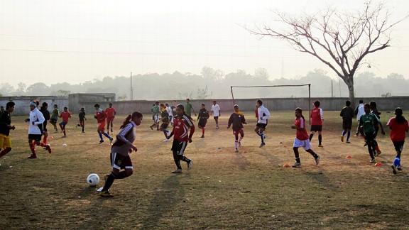 Girls Soccer in India