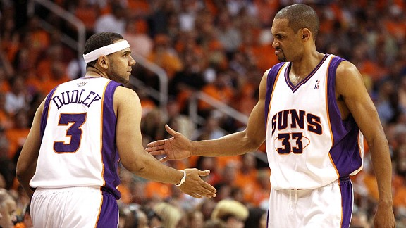 Jared Dudley and Grant Hill