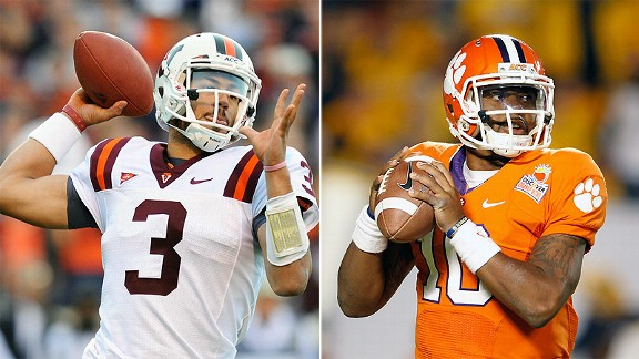 Logan Thomas and Tajh Boyd