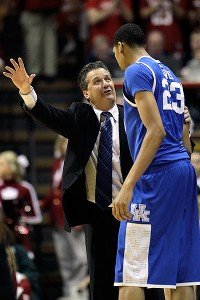 John Calipari and Anthony Davis