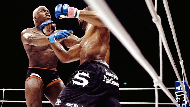 Resultado de imagen para Quinton Rampage Jackson vs Kevin Randleman