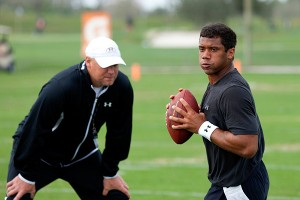 Chris Weinke and Russell Wilson