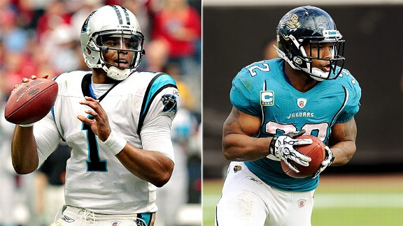 Cam Newton & Maurice Jones-Drew