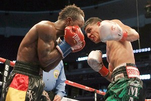 Abner Mares and Joseph Agbeko