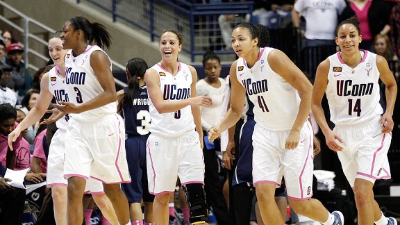 No team wants to see seven-time national champion UConn across from it in the the NCAA bracket.