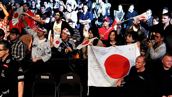 Japanese Fight Fans