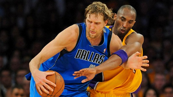 Kobe Bryant, Dirk Nowitzki