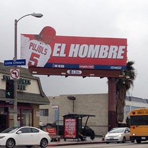 El Hombre billboard