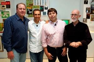 Curt Schilling, Todd McFarlane, R.A. Salvatore and Ken Rolston