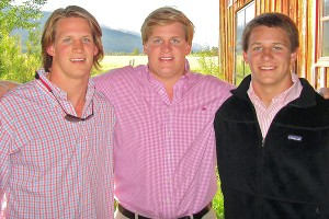 Harrison Jones, Barrett Jones, Walker Jones