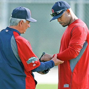 Carl Crawford and Bobby Valentine