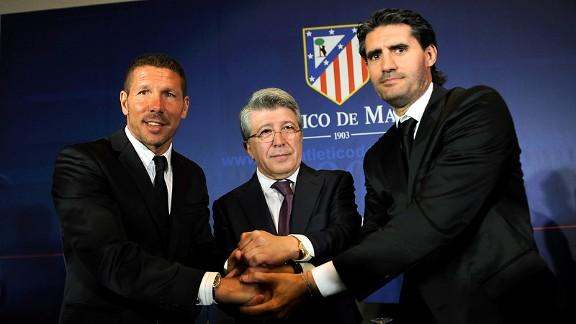 Diego Simeone, Enrique Cerezo, Jose Luis Perez Caminero