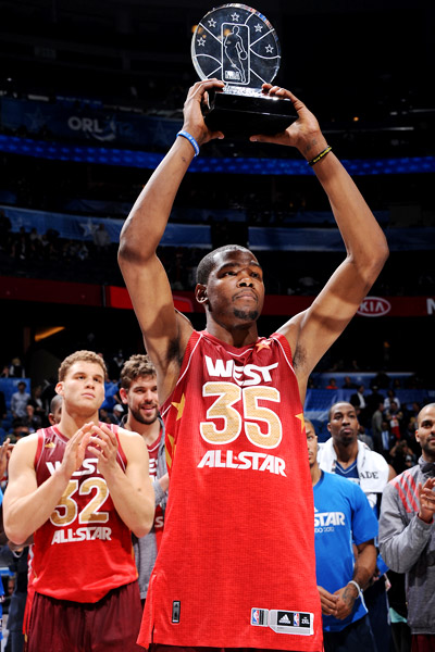 2012 NBA All-Star MVP: Kevin Durant - YouTube