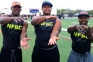 Quinton Powell, Caleb Brantley, Adam Lane