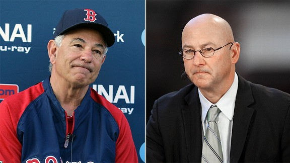 Bobby Valentine and Terry Francona