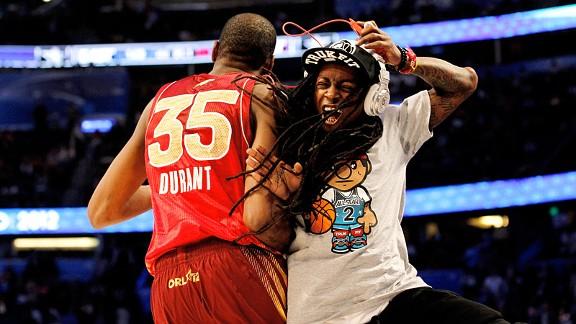 Kevin Durant & Lil' Wayne